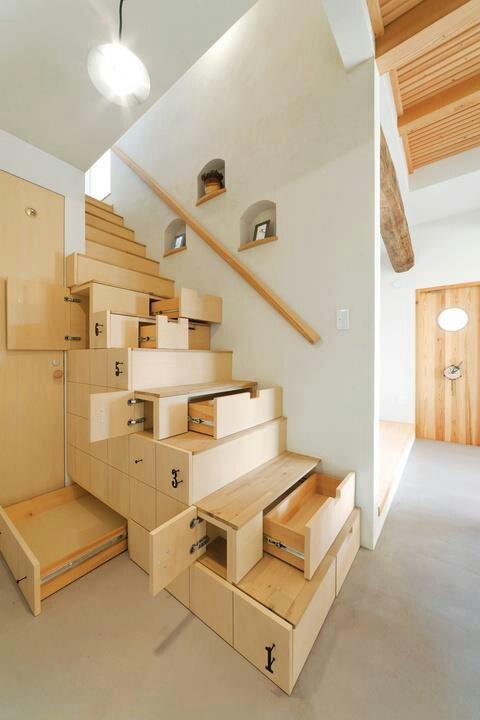 Decoración e Ideas para mi hogar: Como aprovechar tu espacio debajo