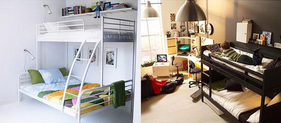 Camas para ahorrar espacio wilgestcredit - Dormitorios juveniles poco espacio ...